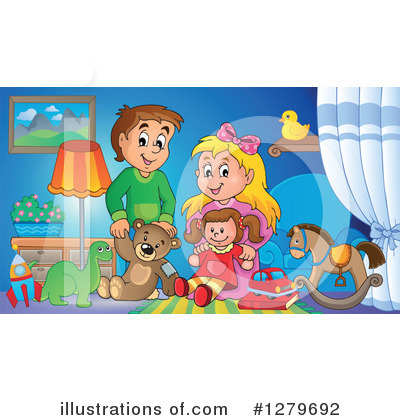 Toy Clipart #1279692 by visekart