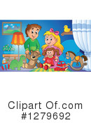 Royalty-Free (RF) Children Clipart Illustration #1279692
