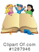 Royalty-Free (RF) Children Clipart Illustration #1287946