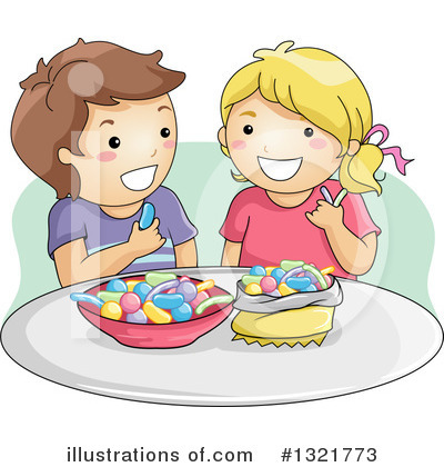 Candy Clipart #1321773 by BNP Design Studio