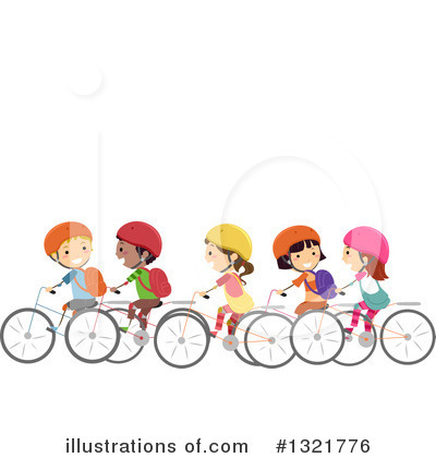Bicycle Clipart #1321776 by BNP Design Studio
