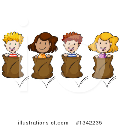 Relay Race Clipart #1342235 by Graphics RF