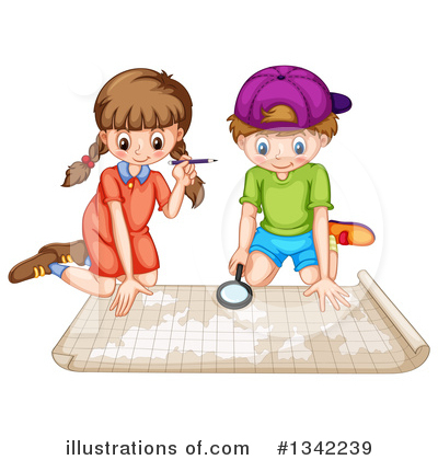 School Children Clipart #1342239 by Graphics RF