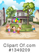 Royalty-Free (RF) Children Clipart Illustration #1349209