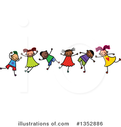Stick Children Clipart #1352886 by Prawny