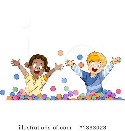 Playing Clipart #1363028 by BNP Design Studio