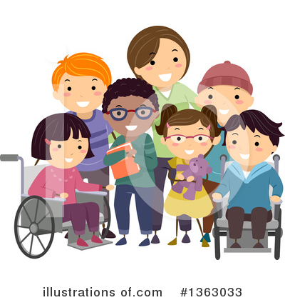 Wheelchair Clipart #1363033 by BNP Design Studio