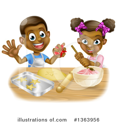 Royalty-Free (RF) Children Clipart Illustration by AtStockIllustration - Stock Sample #1363956