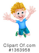 Children Clipart #1363958 by AtStockIllustration