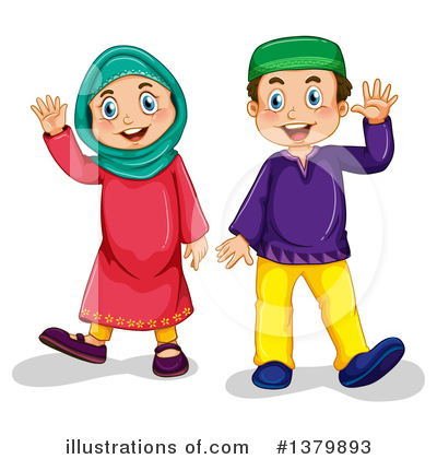 Muslim Clipart #1379893 by Graphics RF