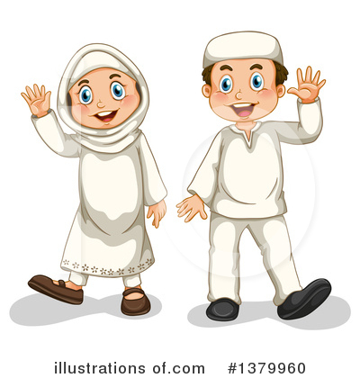 Muslim Clipart #1379960 by Graphics RF