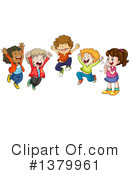 Royalty-Free (RF) Children Clipart Illustration #1379961