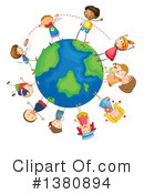 Children Clipart #1380894 by Graphics RF