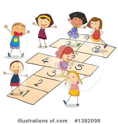 Playground Clipart #1382098 by Graphics RF