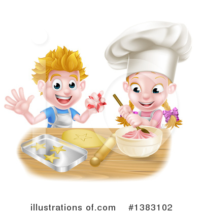 Baking Clipart #1383102 by AtStockIllustration