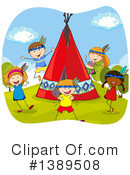 Royalty-Free (RF) Children Clipart Illustration #1389508
