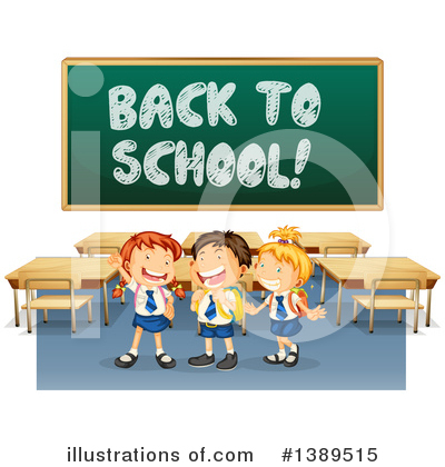 School Boy Clipart #1389515 by Graphics RF
