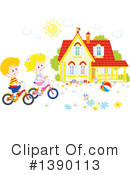 Children Clipart #1390113 by Alex Bannykh