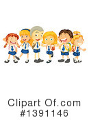 Royalty-Free (RF) Children Clipart Illustration #1391146