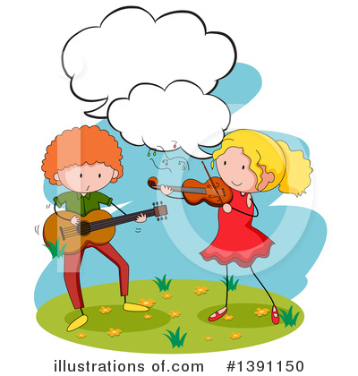 Violin Clipart #1391150 by Graphics RF