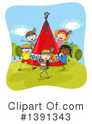 Royalty-Free (RF) Children Clipart Illustration #1391343