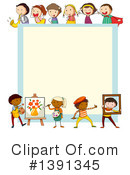 Children Clipart #1391345 by Graphics RF