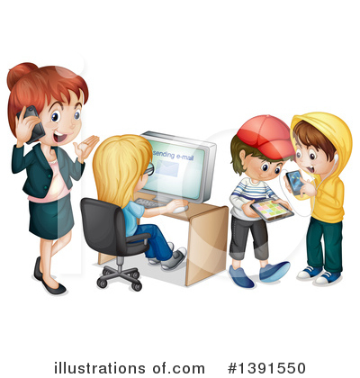 Royalty-Free (RF) Children Clipart Illustration by Graphics RF - Stock Sample #1391550