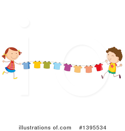 Laundry Clipart #1395534 by Graphics RF