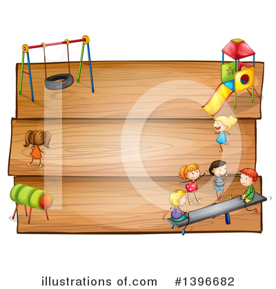 Teeter Totter Clipart #1396682 by Graphics RF