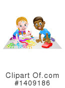Children Clipart #1409186 by AtStockIllustration