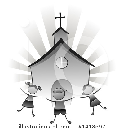 Royalty-Free (RF) Children Clipart Illustration by BNP Design Studio - Stock Sample #1418597
