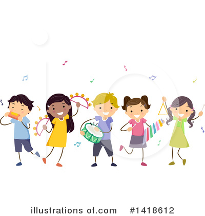 Xylophone Clipart #1418612 by BNP Design Studio