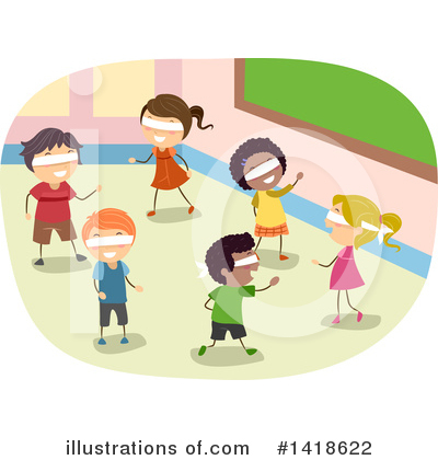 Royalty-Free (RF) Children Clipart Illustration by BNP Design Studio - Stock Sample #1418622