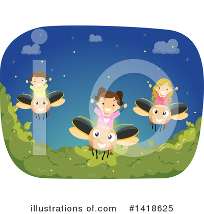 Firefly Clipart #1418625 by BNP Design Studio