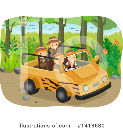 Safari Clipart #1418630 by BNP Design Studio
