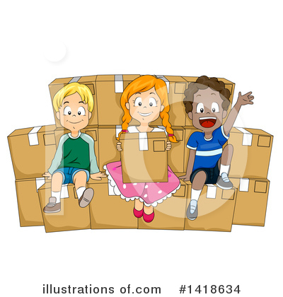 Moving Clipart #1418634 by BNP Design Studio