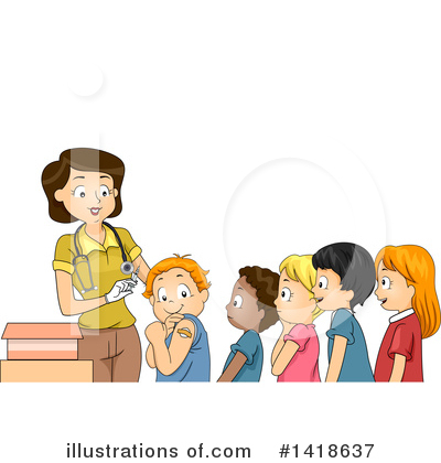 Royalty-Free (RF) Children Clipart Illustration by BNP Design Studio - Stock Sample #1418637