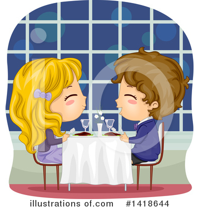 Dining Clipart #1418644 by BNP Design Studio