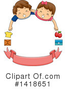 Royalty-Free (RF) Children Clipart Illustration #1418651