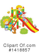 Royalty-Free (RF) Children Clipart Illustration #1418857