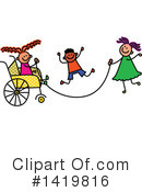 Royalty-Free (RF) Children Clipart Illustration #1419816