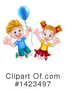 Children Clipart #1423497 by AtStockIllustration