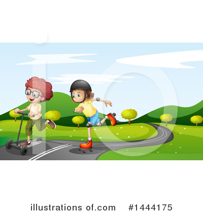 Park Clipart #1444175 by Graphics RF