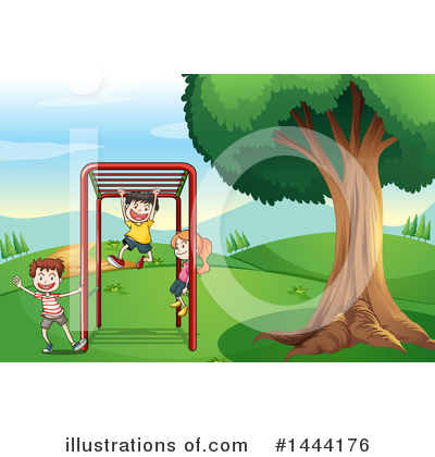Playground Clipart #1444176 by Graphics RF