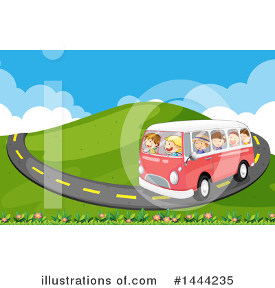 Vw Van Clipart #1444235 by Graphics RF