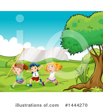 Park Clipart #1444270 by Graphics RF