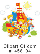 Royalty-Free (RF) Children Clipart Illustration #1458194