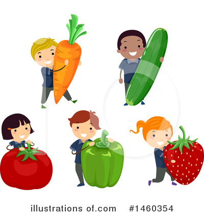 Strawberry Clipart #1460354 by BNP Design Studio