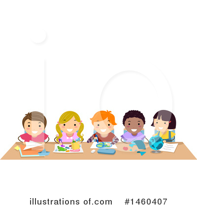 Table Clipart #1460407 by BNP Design Studio