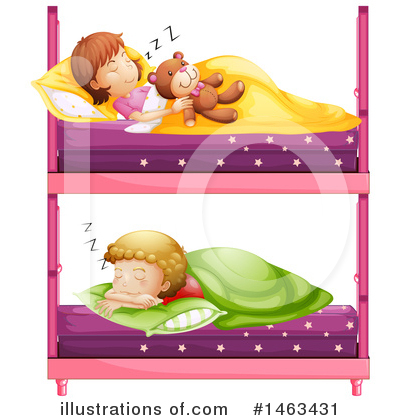 Bed Clipart #1463431 by Graphics RF